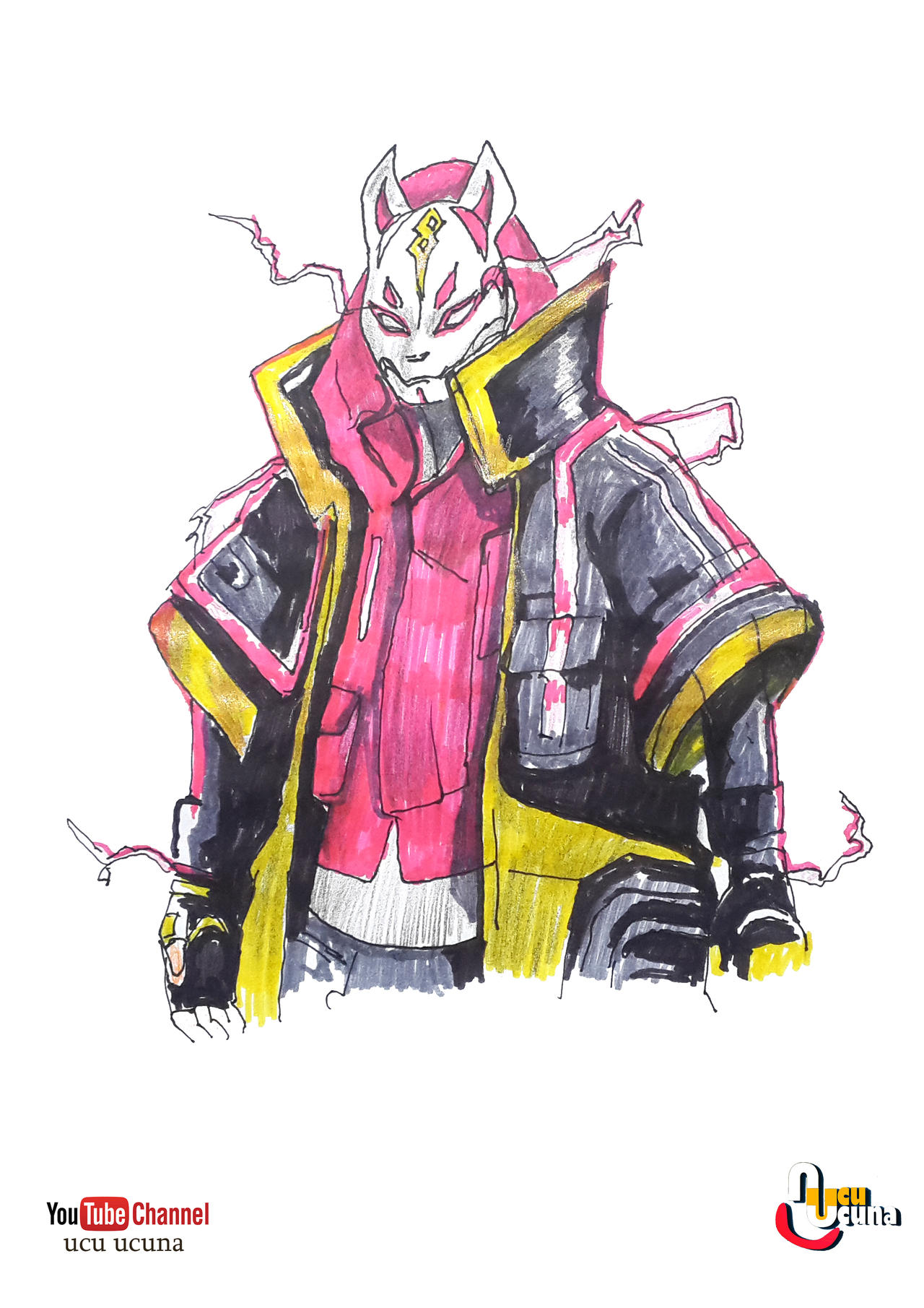 How To Draw Drift Max Level Fortnite By Ahmetbroge On
