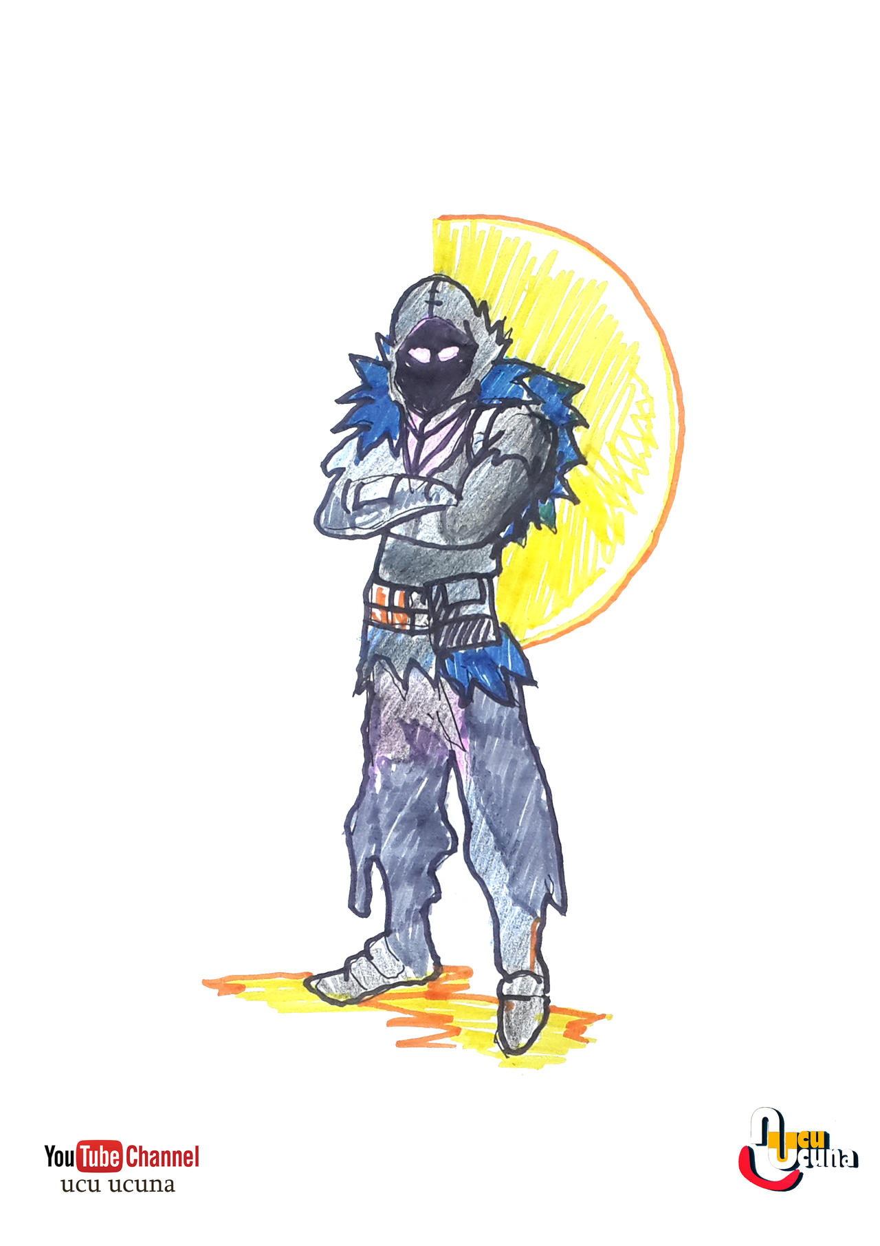 Youtube Raven Fortnite How To Draw Raven From Fortnite Battle Royal By Ahmetbroge On Deviantart
