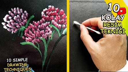 15 SIMPLE DRAWING TECHNIQUES
