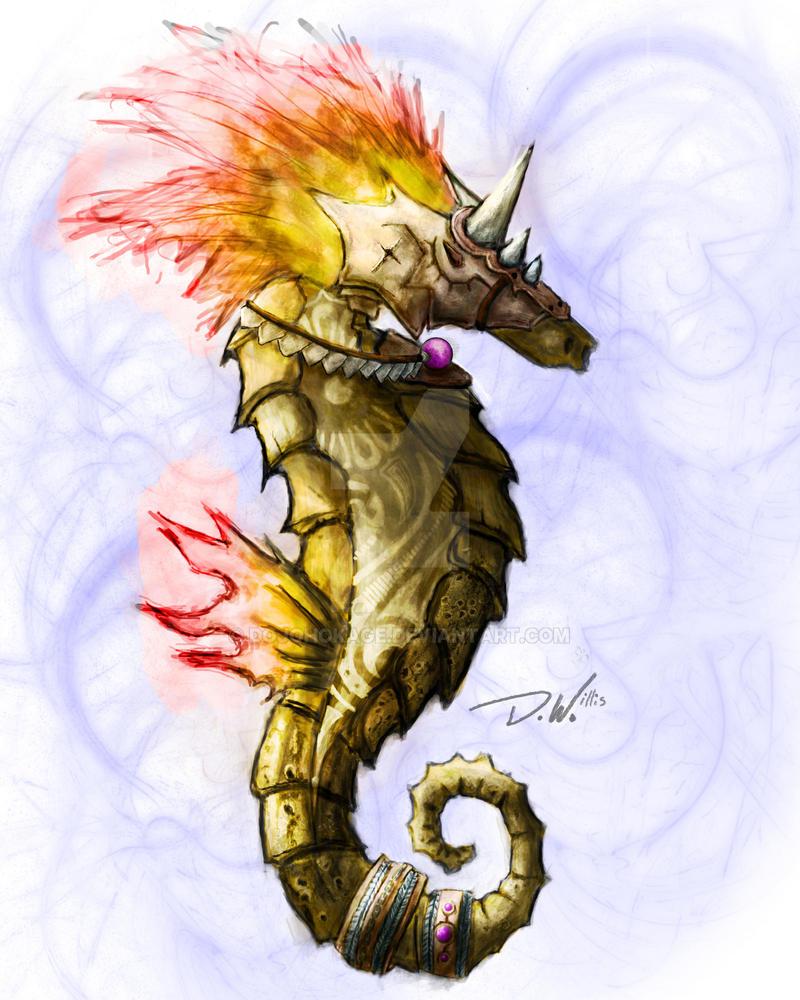 Seahorse by dojohokage