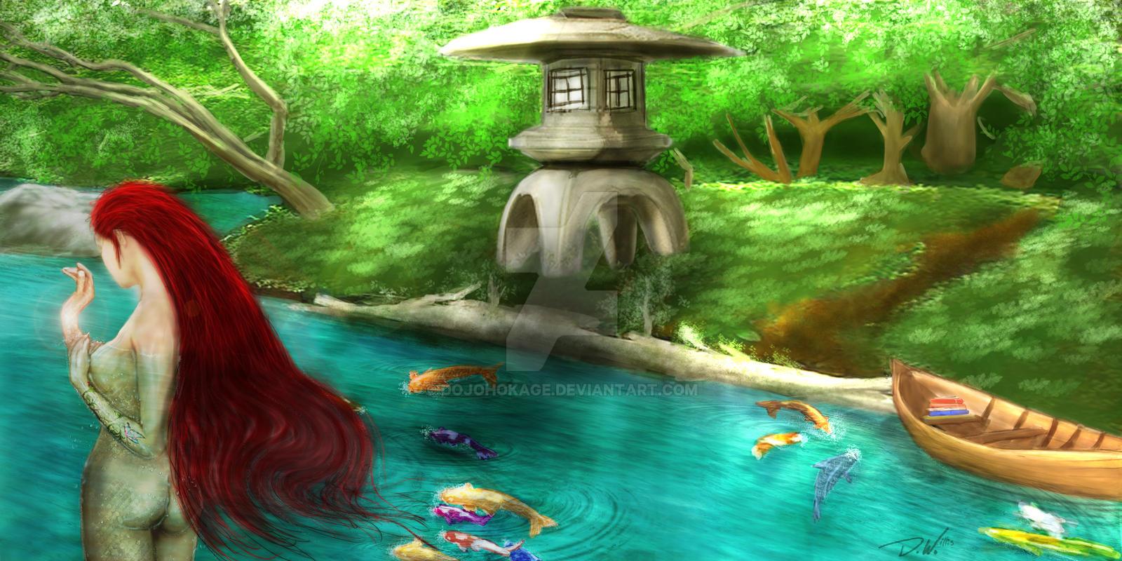 Scarlet Aquarius by dojohokage