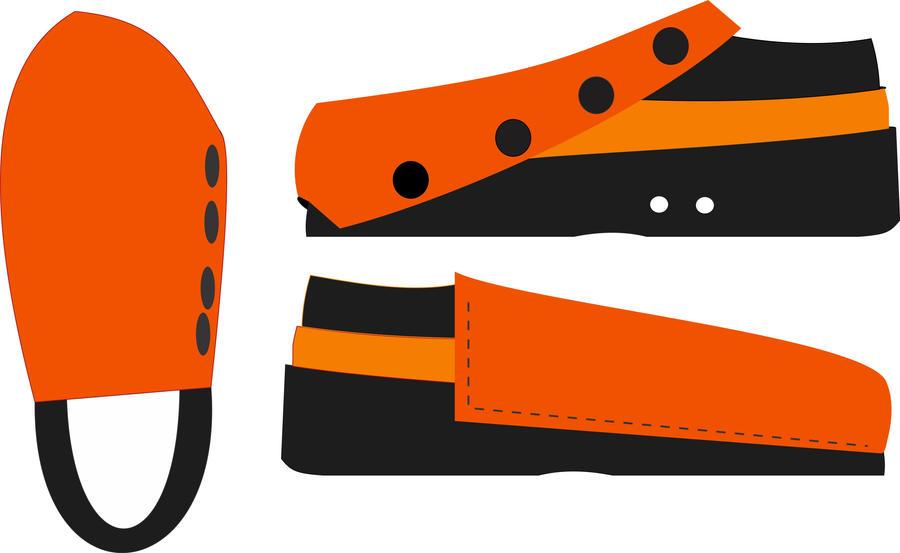 Clockwork Orange Shoe by MC-E42A