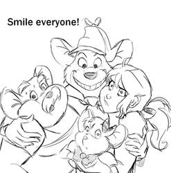 Smile Everyone! by Lilgrimmapple