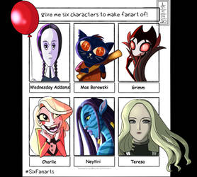 Six Fanarts (Meme)
