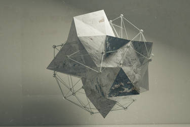 Abstract Shape Wireframe by opreadorin1
