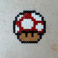 Red Mushroom by Garrosa