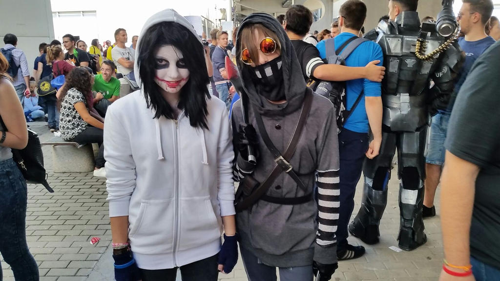 Ticci Toby and Jeff The Killer by Kalix5