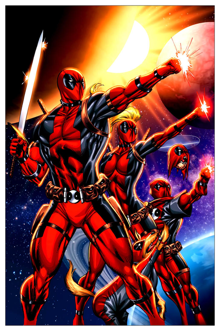 Deadpool Corps #11 by 7MoonLight7