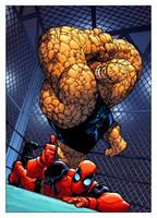 Deadpool Team-Up #888 by 7MoonLight7