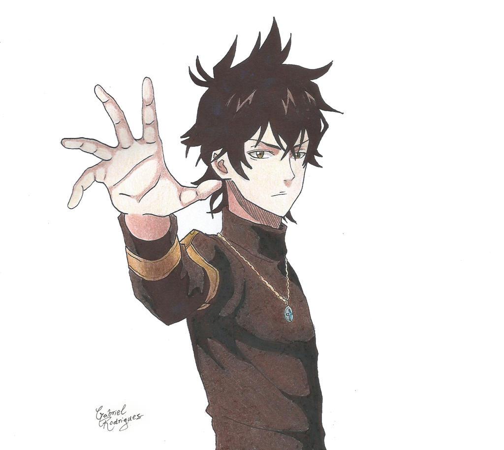 Drawing Yuno Black Clover Characters Wallfree
