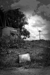 a television by GreenSlOw
