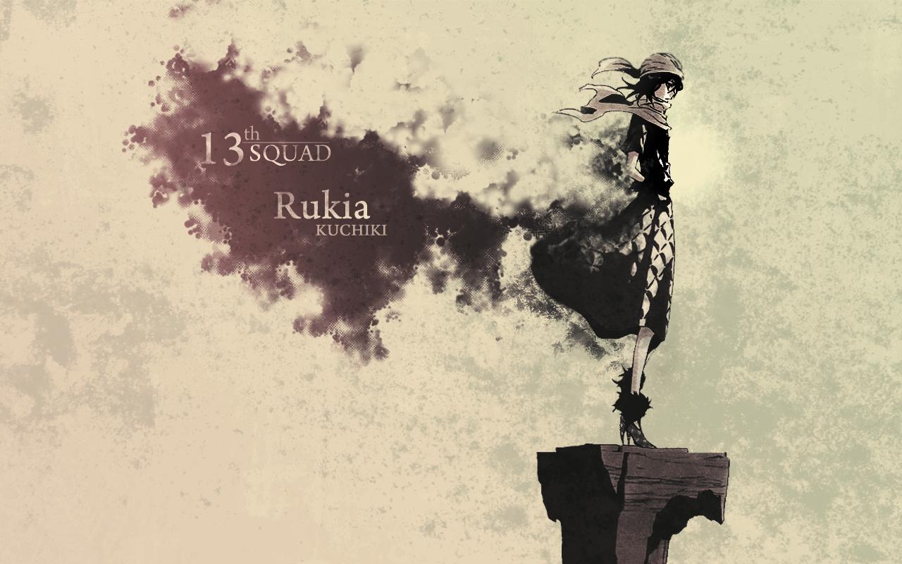 Rukia Wallpaper by PhantazyStar