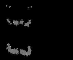 Anthro Raccoon Base by samalamb-bases