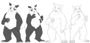 Anthro Panda Base