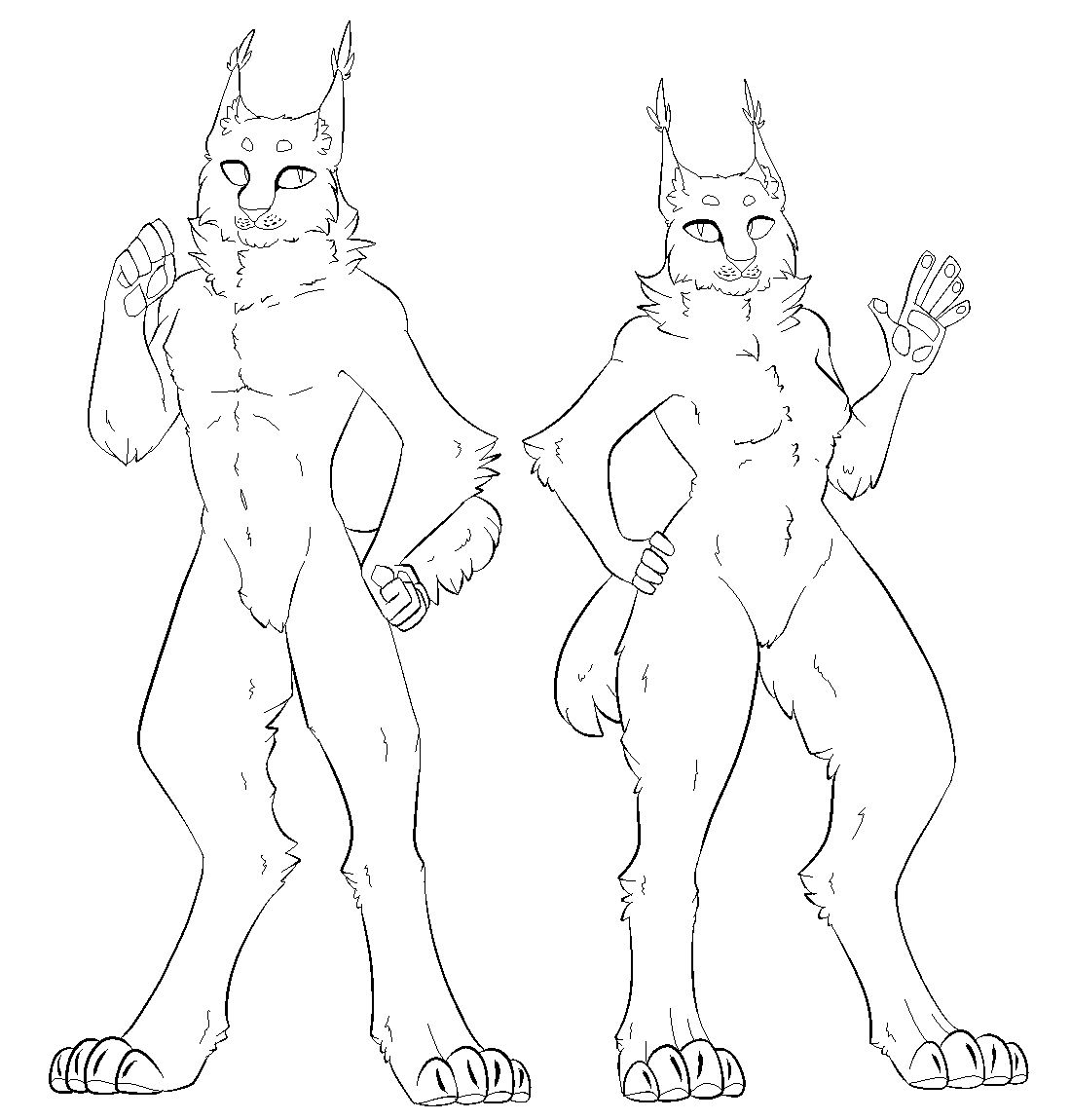 Anthro Lynx Base