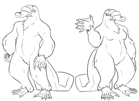 Anthro Platypus Base