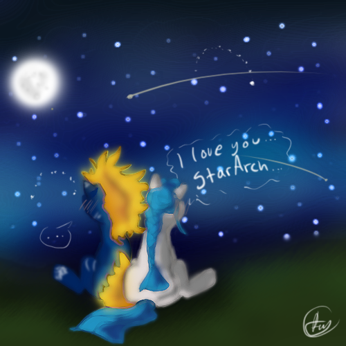 Stararch and Twinkledrops by Returnmemory