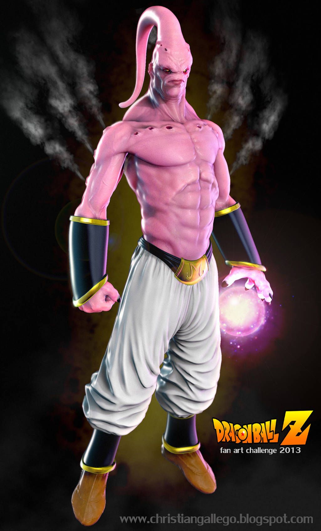 Super Majin Buu by fabian3224