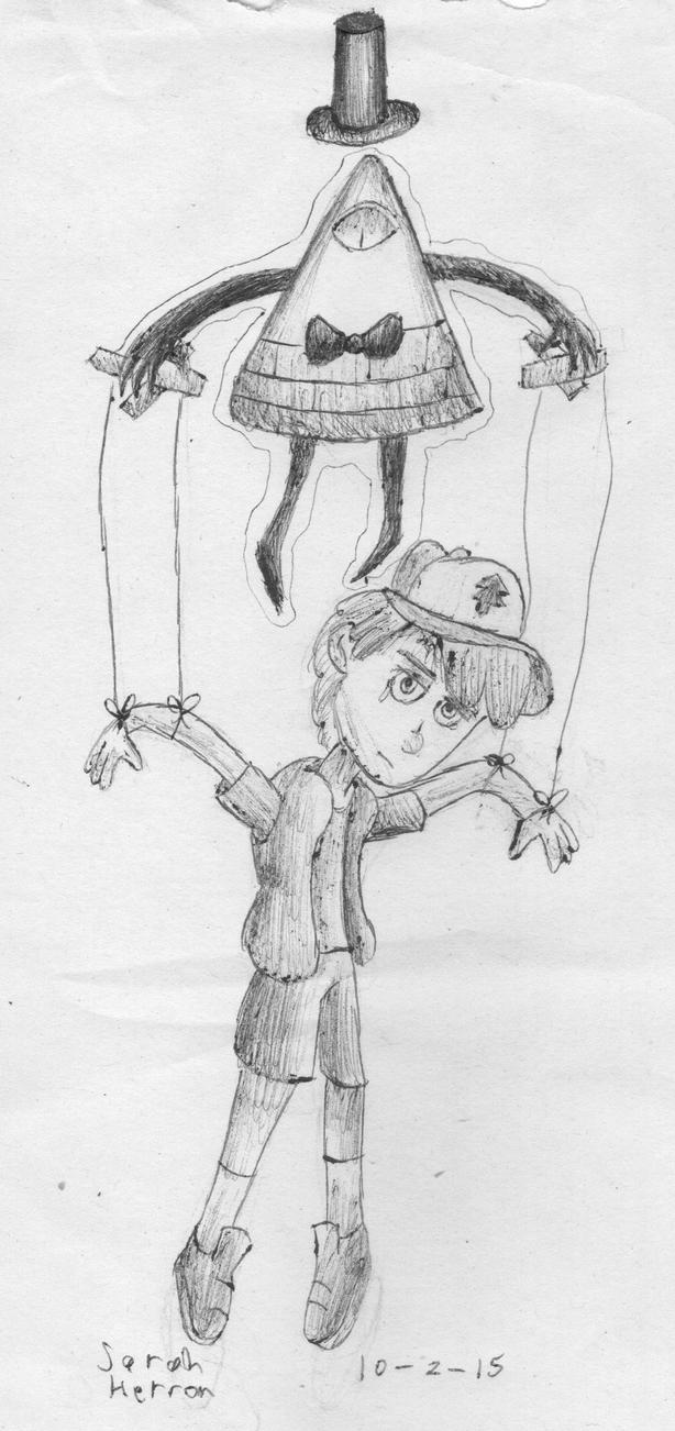 Inktober Day 2: Puppet by Sarah-Herron