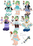 khux oc outfits by Sarah-Herron