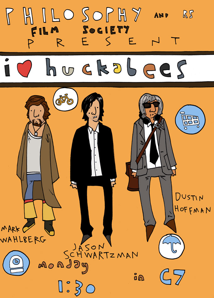 I heart HUCKABEES by MANeatingCLOTHES