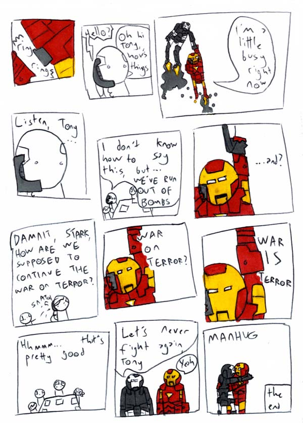MAN AND MACHINE pg5 by MANeatingCLOTHES