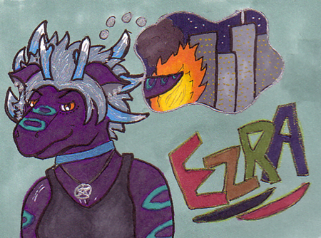 Ezra Badge by Schulo