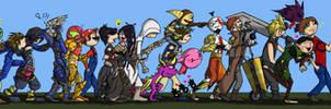 Walking of Favorite Game Characters