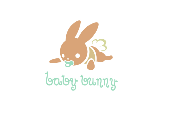 Baby Bunny Logo by MechanicalPumpkin