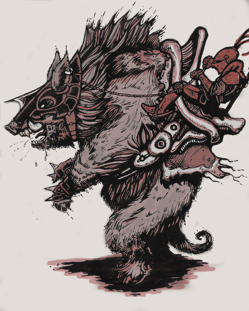 Boar Rider 2.0 Concept by MechanicalPumpkin
