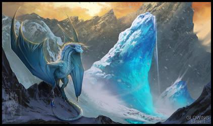 Icy Peaks by GlowingSpirit