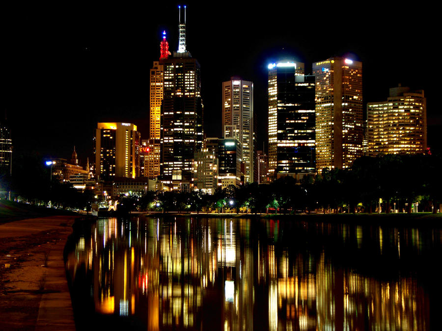 Melbourne Skyline 4110 by moviegirl78