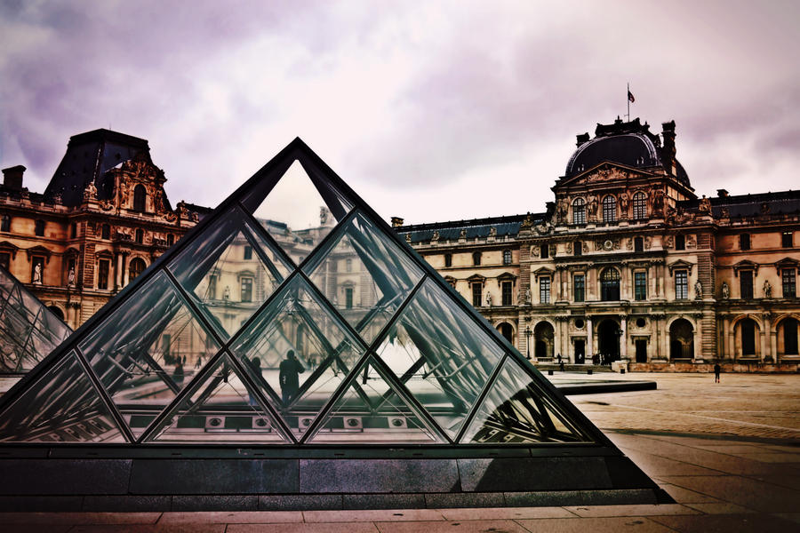 Louvre in Paris 3303 by moviegirl78