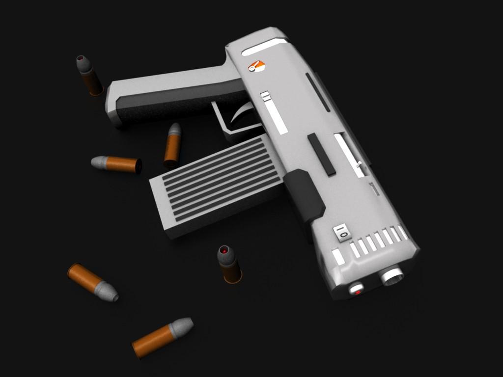 futuristic pistol mark 1 by razor180 on deviantart firearms clipart handgun clip art black and white free