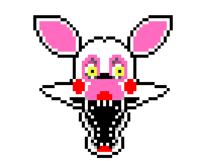 Pixel fixed mangle by me by retrostylegirl on deviantart