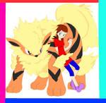 RP OC ~ Sierra and her Arcanine
