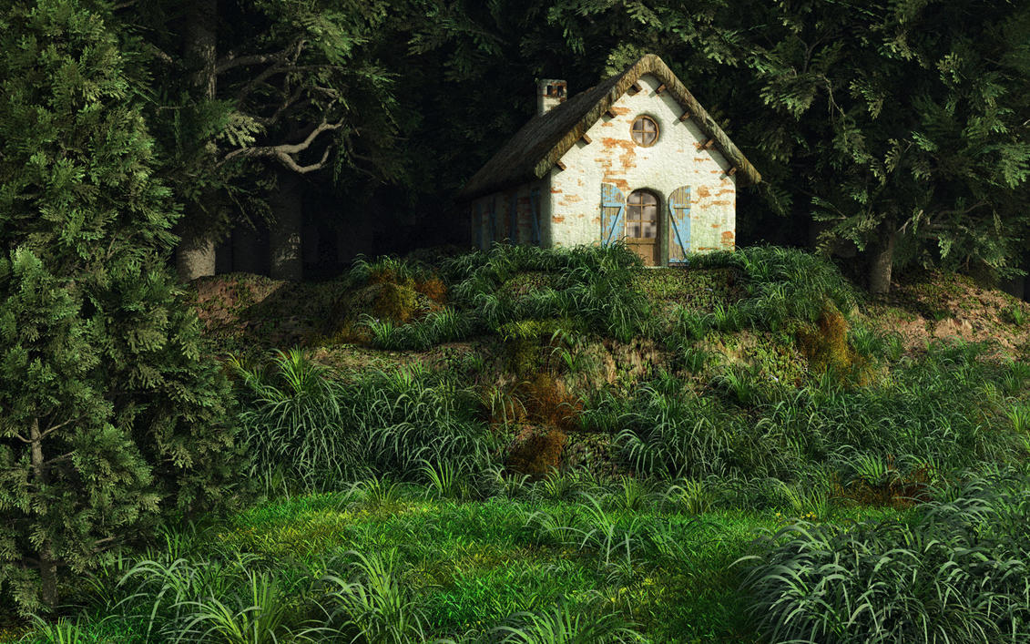 Cottage In The Woods 2 By AfterDeath