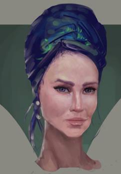 Quick portrait 1
