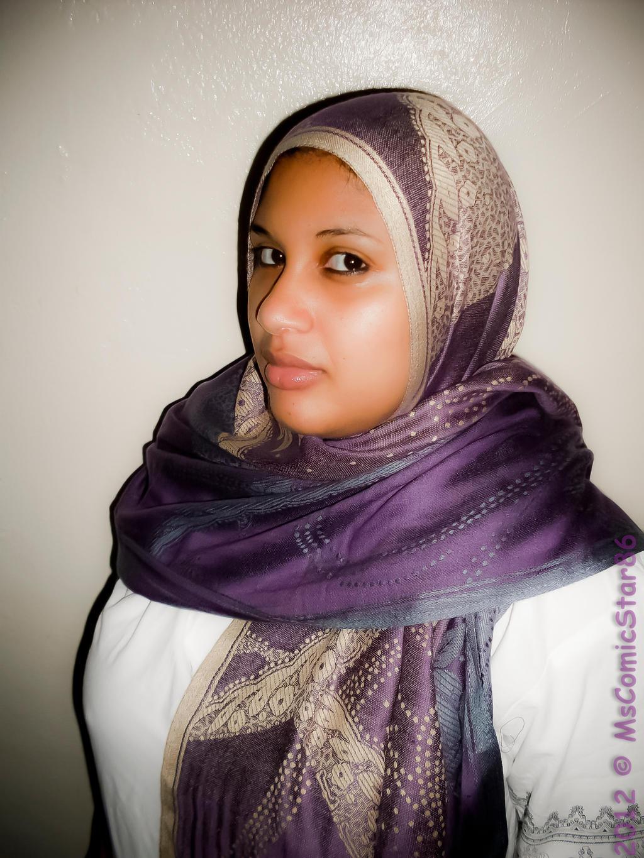 Mature hijab women