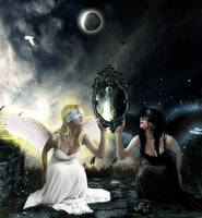 Mirror of Good and Evil by AntonellaB