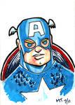 Captain America Card III
