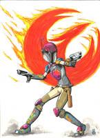 Sabine Wren- Star Wars Rebels by Krayola-Kidd