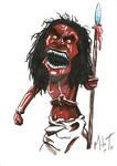 Day 17- Zuni Fetish Doll Trilogy of Terror