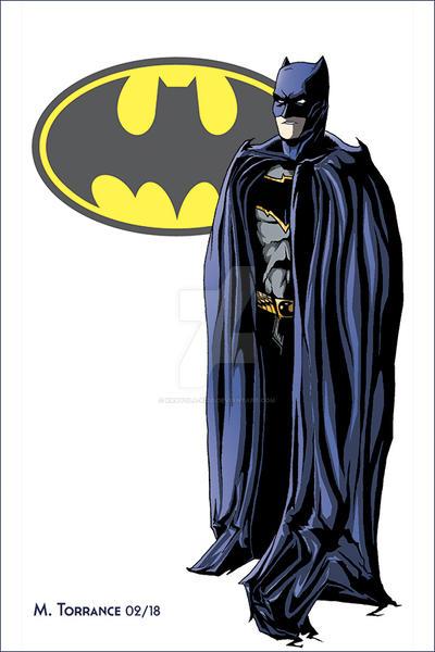 DC Trinity Part 1- Batman