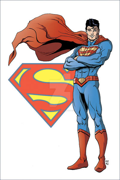 DC Trinity Part 2- Superman