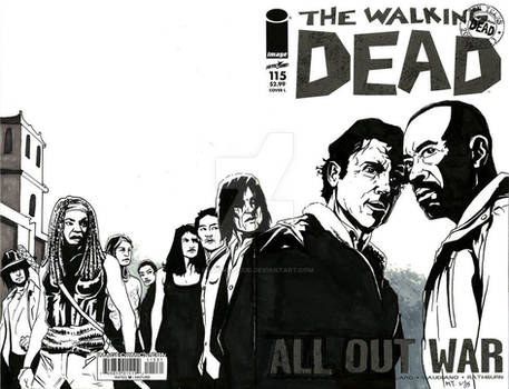 The Walking Dead Iss 115