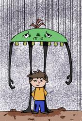Monster Umbrella by MichaelJNimmo