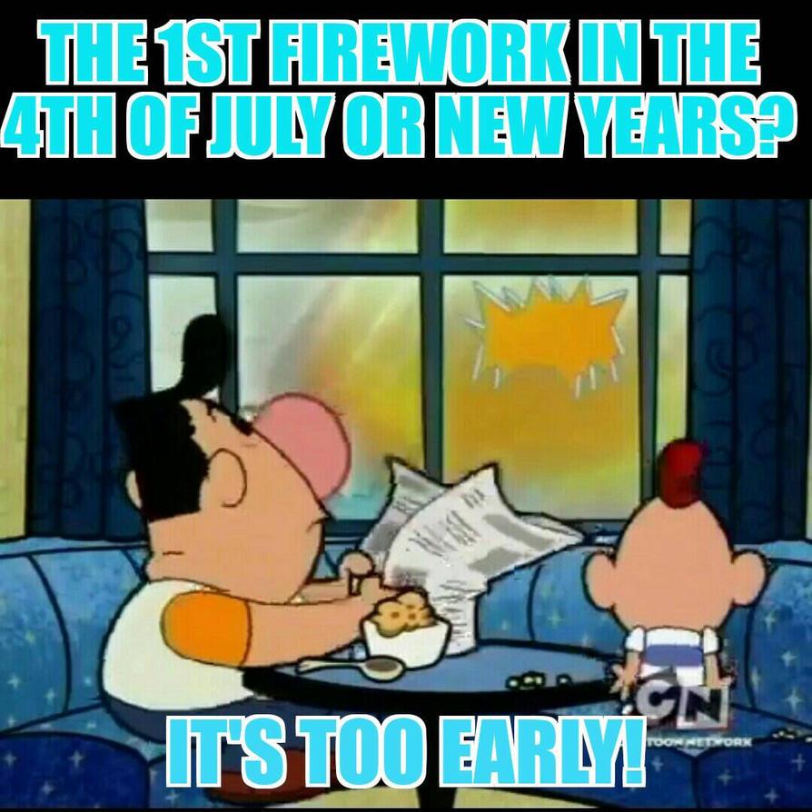 Billy saw the fireworks by BigBranx2