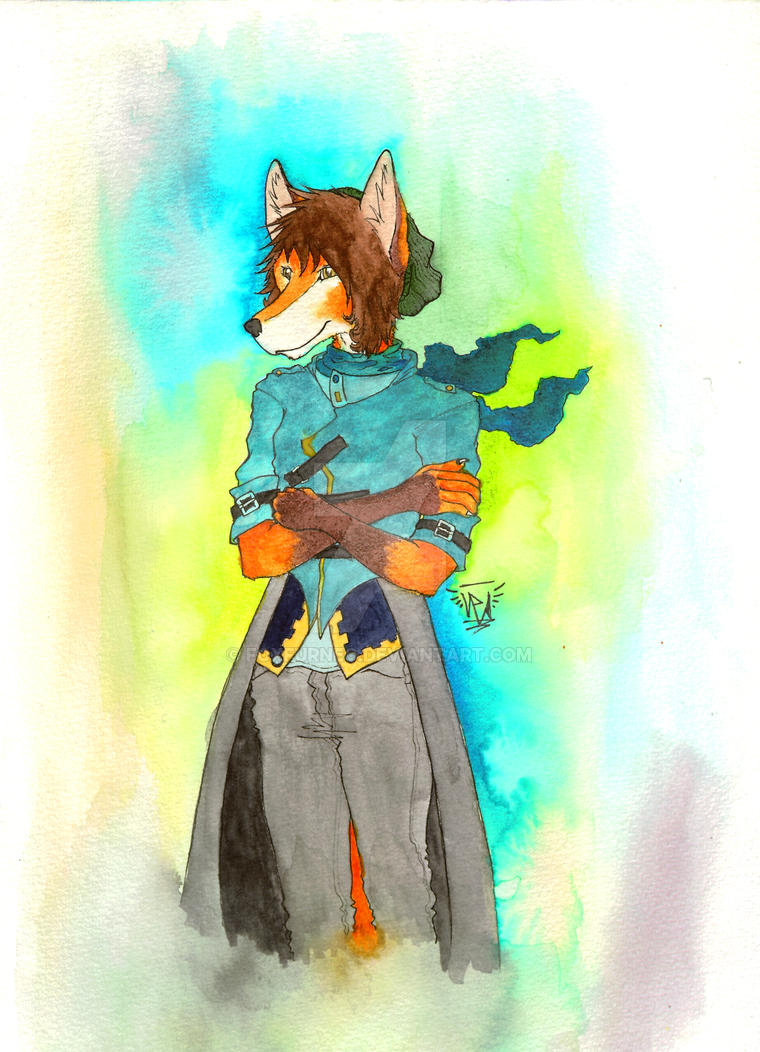 Foxfur Watercolor by FoxfurNeo