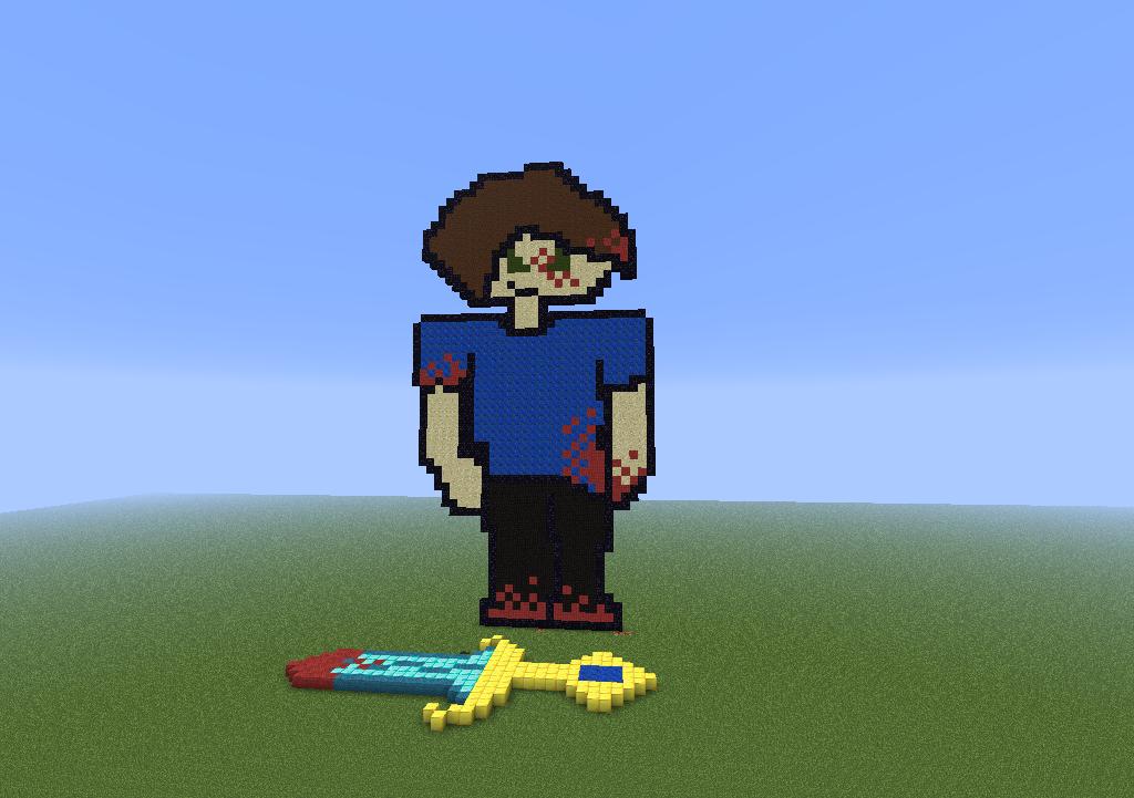 Steve minecraft pixel art